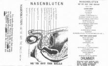 Nasenbluten - We've Got The Balls (1994)